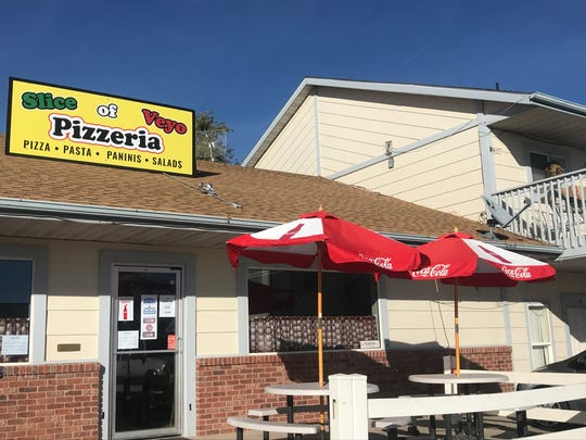 Slice of Veyo sells pizza and other offerings in the