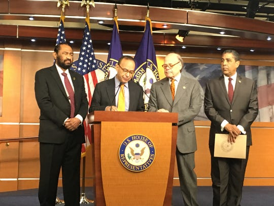 House Democrats announce at a press conference in Washington,