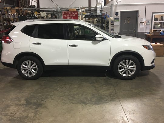 Deputies obtained a search and seizure warrant for the vehicle of Monica Snee, 51 of Salisbury, a 2016 Nissan Rogue. Photo courtesy of Wicomico County Sheriff's Office.