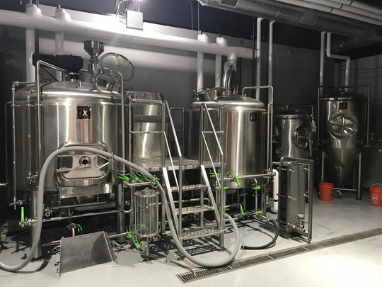 Spencerport's Brindle Haus Brewing features a 10-barrel brewhouse.