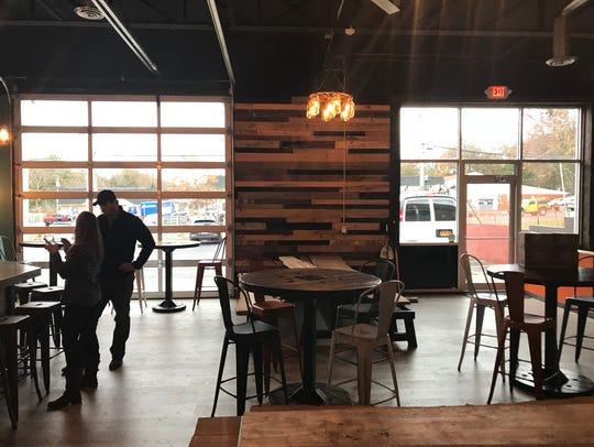 Brindle Haus Brewing occupies a space that once housed