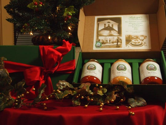 Three pasta sauces make a great food gift