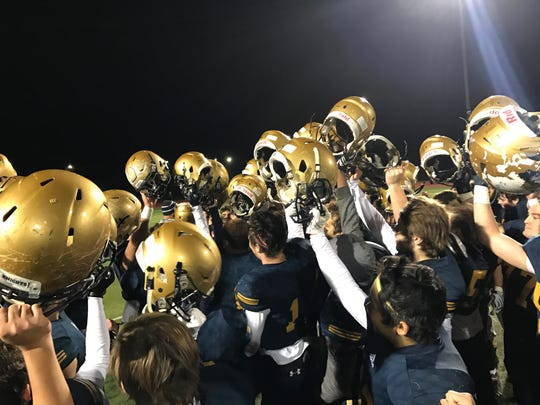 NV/Old Tappan celebrates after beating Wayne Hills,