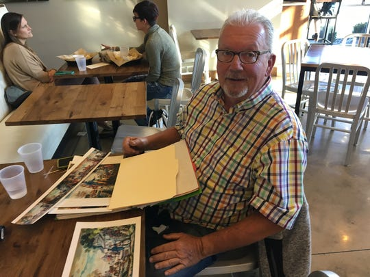 Mike Lohmeyer, a former owner of the Heritage Cafeteria location on Battlefield Road, talks about plans to publish a book of fan-favorite recipes adapted from the cafeteria's menu. He and his co-author expect to have the book out in early December 2017. Photographed Nov. 15, 2017.