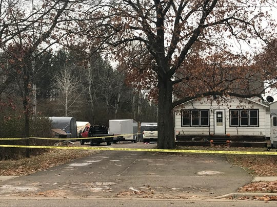 Police say a 52-year-old Tomahawk man was shot and