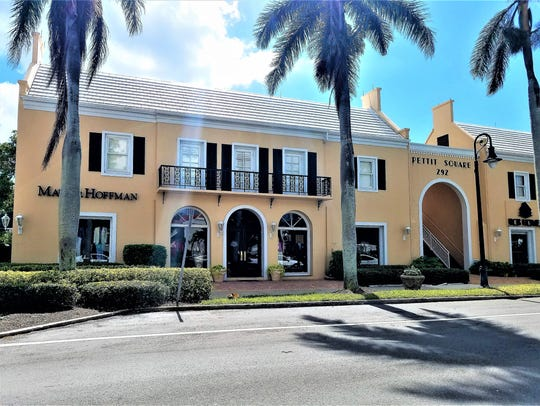 Pettit Square at Old Naples on 14th Avenue South is