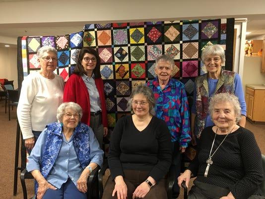 Longview residents display quilt