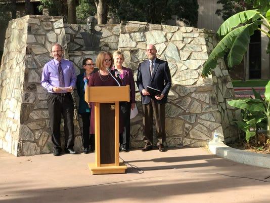 Alzheimer's press conference