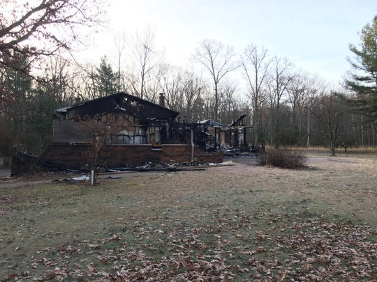 The Matthews home, 3861 County Road Q, burned down on November 3.