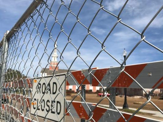 Mount Carmel road closed 1