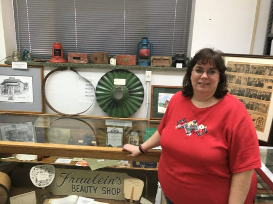 Houston County Archivist Melissa Barker has accumulated