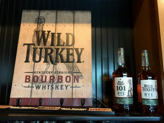 Wild Turkey is a popular Thanksgiving drink.