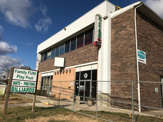 A developer plans to convert this former billiards