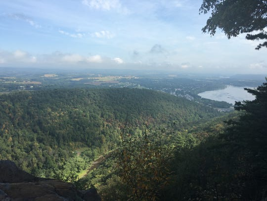 Hike the Hawk Rock trail in Duncannon, Pa. to see this