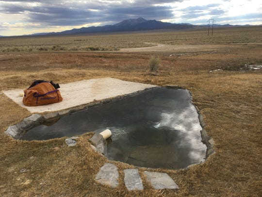 Bartine hot springs has a distinctive, heart-shaped