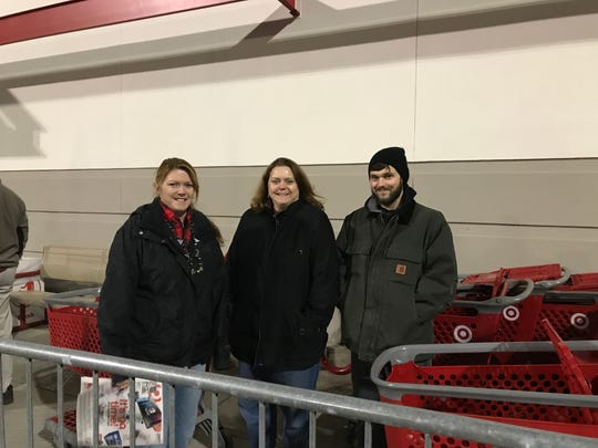 Connie Neff, 47, Laurie Comfort, 50, and Andy Comfort,