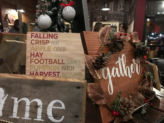 Items for sale at Local on 1st in Wisconsin Rapids.