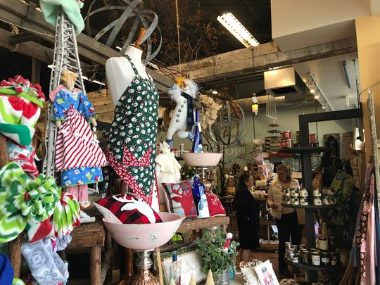 Enjoy the Store in downtown Redding had a steady stream of loyal customers come through its doors for Small Business Saturday.