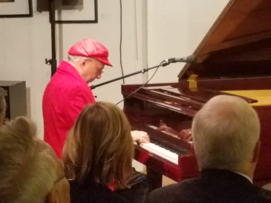 Pianist Rio Clemente performed at the Watchung Arts