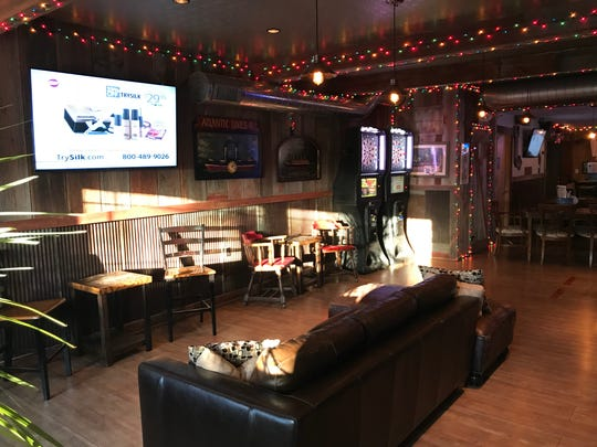 Kick Switch recently added a back room area that can be rented for private gatherings.