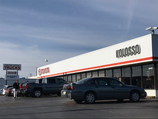 Kolosso Toyota will operate out of its existing building