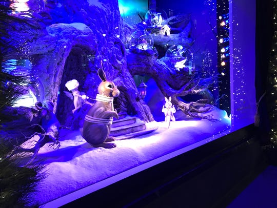 Lord & Taylor holiday window