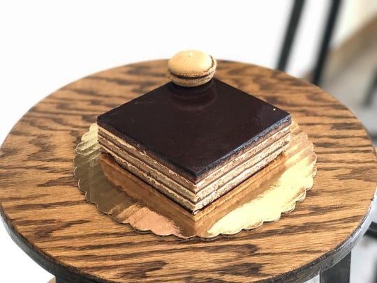 Opera Cake at La Tabatiere
