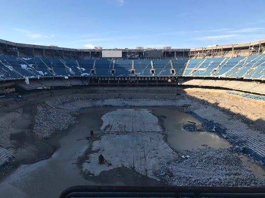 An East China Township company has been hired as the explosives experts in the beginning of the demolition of the Silverdome.