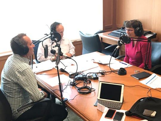 Left to right, Jay DeDapper, director of Innovation