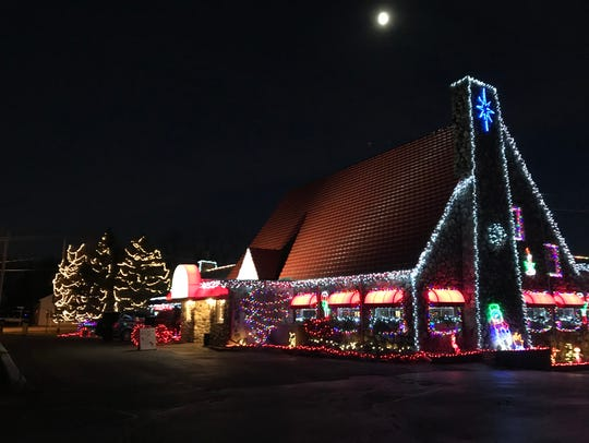 The Red Osier used more than 2 million lights in its