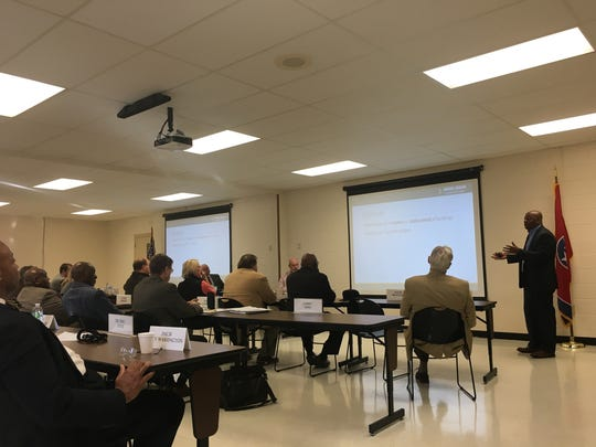 Jackson-Madison County Schools Superintendent Eric Jones presented his capital plan on Nov. 29 to the Madison County Commission.