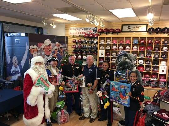 The Somerset Patriots will host their annual Holiday Toy Drive at TD Bank Ballpark in Bridgewater on Saturday, Dec. 9.