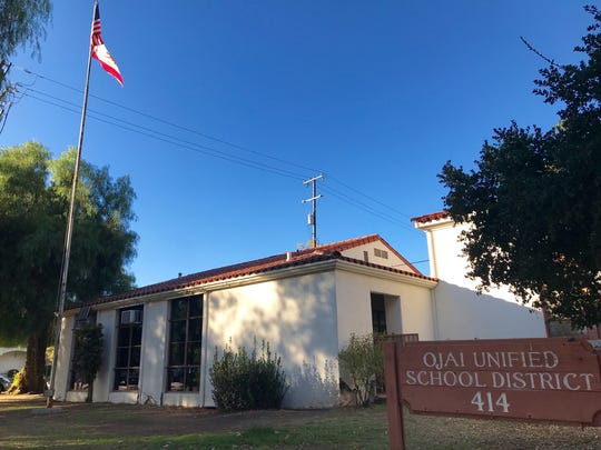 The exterior of the Ojai Unified School District offices.