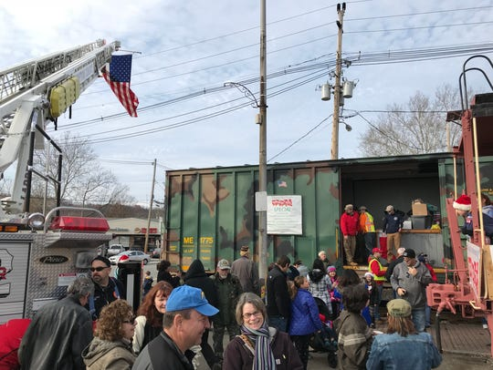Hundreds turn out to donate toys for Operation Toy