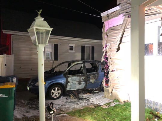 According to Fond du Lac Fire/Rescue, careless use of smoking materials was the cause of a vehicle fire Saturday evening on Fourth Street in Fond du Lac. Heat and fire from the blaze damaged a garage and two houses.
