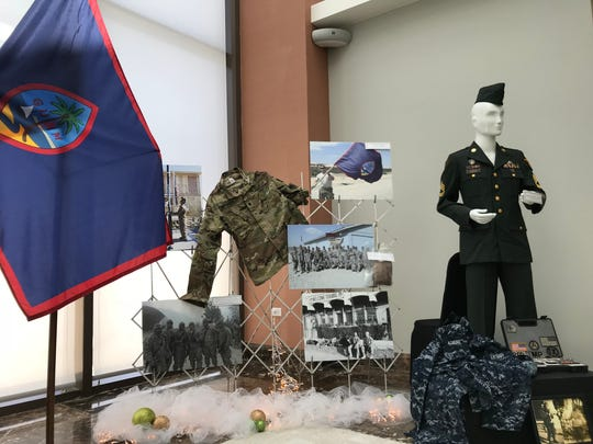 Students from the University of Guam Master of Public Administration program unveiled a project aimed to help local veterans, at the Dusit Thani Guam Resort on Dec. 4, 2017.