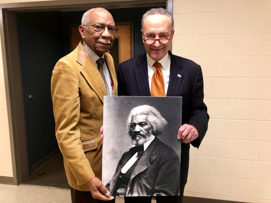 David Anderson was appointed to the Frederick Douglass