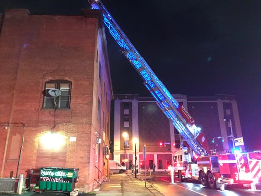 Rochester firefighters on scene of a second-alarm fire