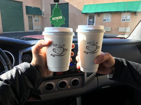 The best part about a drive-thru coffee shop like Cup