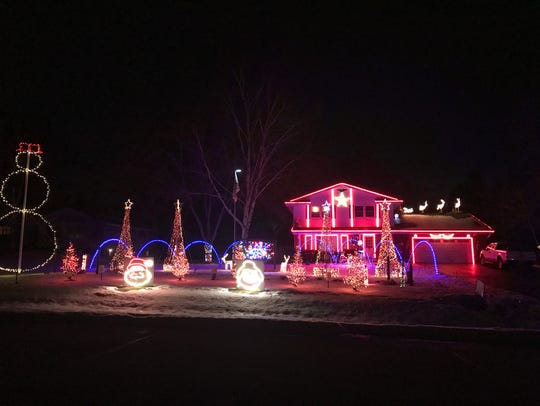 Konzal's Crazy Christmas Light Show offers more than 85,000 lights and interactive displays. The show is free but collects donations for Make-A-Wish Wisconsin.