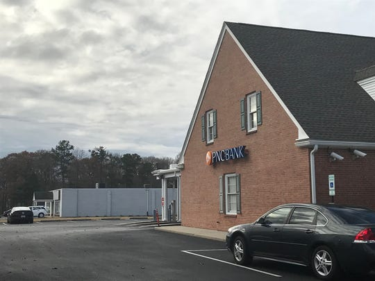 Police are investigating a robbery at a PNC Bank on