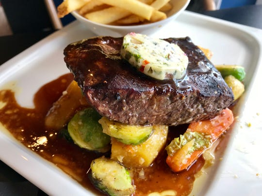 The steak frites from Gather in Cape Coral.