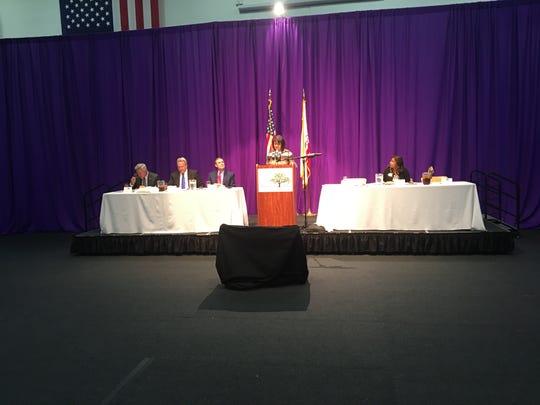 Outgoing Thousand Oaks Mayor Claudia Bill-de la  Peña