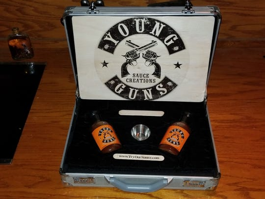 Young Guns Smoking and Grilling Sauce has gift sets available.