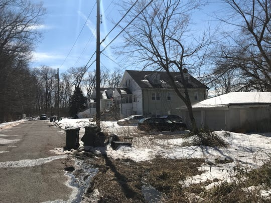 An application to build a multifamily housing development on Sorbello Road in Paramus was denied by zoning officials on Thurs., Dec. 7, 2017. These photos, dated March 20, 2017, show where the development would have been built.