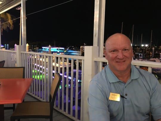 Joe Mitchell is the general manager of The Original Shrimp Dock Bar & Grill on San Carlos Island at Fort Myers Beach.