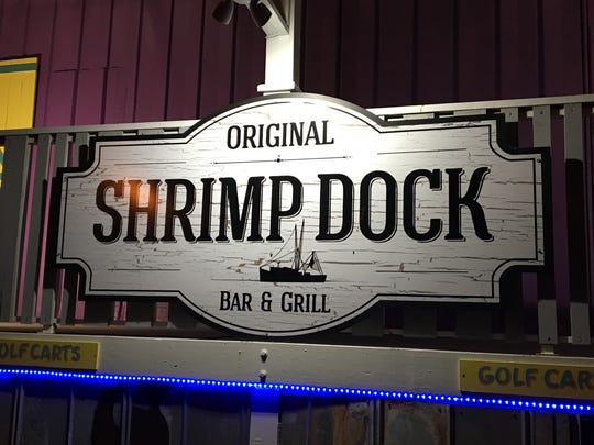 The Original Shrimp Dock Bar & Grill on San Carlos Island at Fort Myers Beach is housed in the old waterfront building that once was the Island Packing Company.