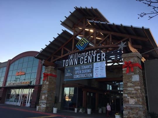 A new sign for Willamette Town Center mall, formerly