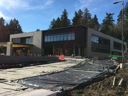 The Boulder Creek South building under construction