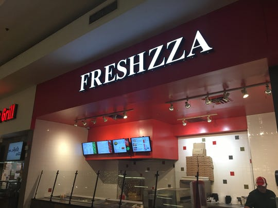 Freshzza opened in Battlefield Mall's food court at the end of Nov. 2017.